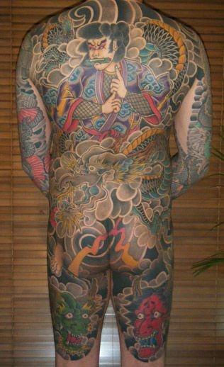 背中,額,人物,龍タトゥー/刺青デザイン画像 | - TATAU / Irezumi, Horimono ...