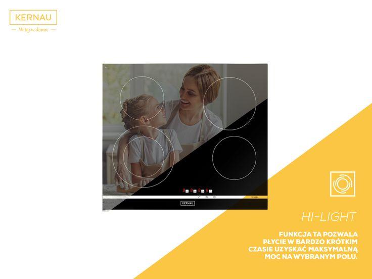 Płyta ceramiczna posiada także funkcję blokady rodzicielskiej, która jest odpowiedzialna za zabezpieczenia przed włączeniem i wyłączeniem urządzenia przez małe dzieci: http://bit.ly/Kernau_KHC6421
