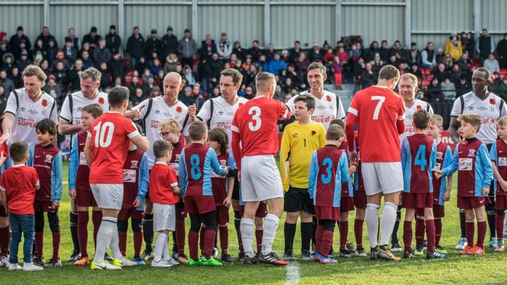 Class of 92 and Friends play out entertaining 4-4 draw with Salford City