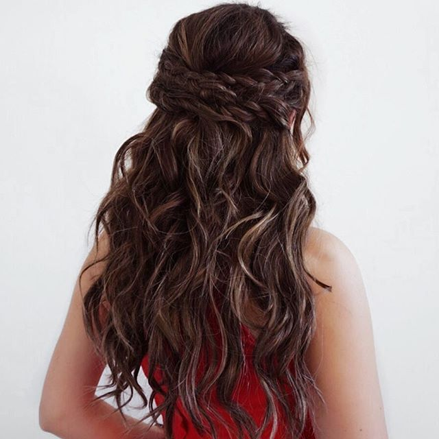 braids for formal events curly braids and hair ideas