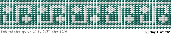 http://nightwriter.hubpages.com/hub/Free-Patterns-For-Loom-Beading