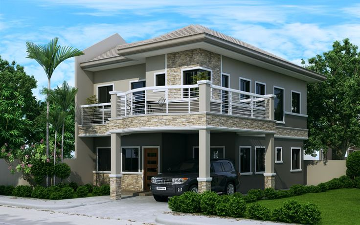 b2ef4767ad7e4dc991066ebbb47b5805 - Download Two Storey House Design For Small Lot Area Pics