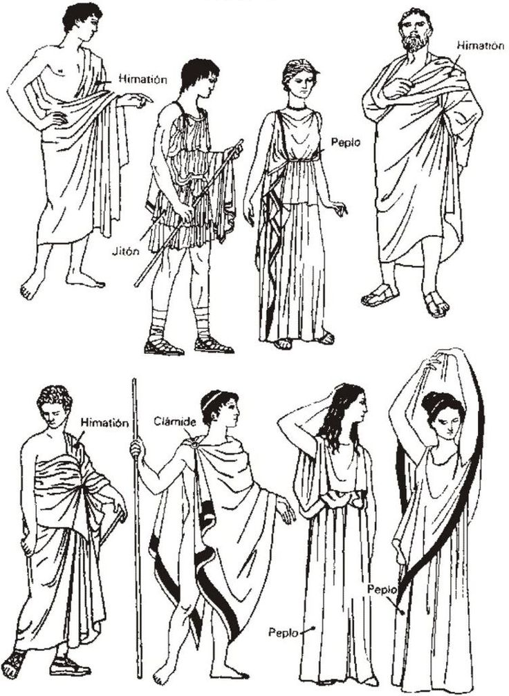 Ancient Greece clothes
