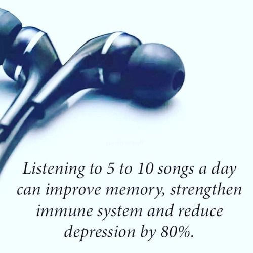 #Listen #To #Music #Dr #DJ #Suggests for a #healthier #lifestyle #improved #memory #strengthen #immune #system and #reduce #depression #yeah #buddy #lol #music #jams #headphones #earbuds via Earbuds on Instagram - Best Sound Quality Audiophile Headphones and High-Fidelity Premium Earbuds for Hi-Fi Music Lovers by AudiophileCans