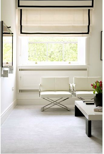 Best 25 pelmet box ideas on pinterest window valance for Roman shades for wide windows