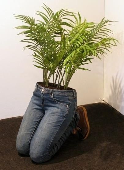 Give your visitors something to talk about with this quirky planter!