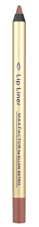 Ο καλύτερος τρόπος για να αποκτήσετε ακριβές, επαγγελματικό αποτέλεσμα στα χείλη είναι με το Max Factor  Lip Liner Cognac. Το μολύβι χειλιών, σχεδιασμένο από την Ellen Betrix, είναι ιδιαίτερα απαλό, ώστε να απλώνεται εύκολα και στεγνώνει γρήγορα, αφήνοντας σας βελούδινα χείλη.