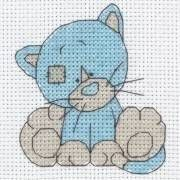 Fluffy - My Blue Nose Friends Cross Stitch Starter Kit from Anchor from £9.90