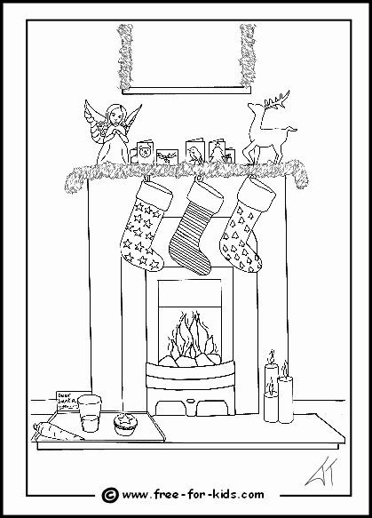 Difficult Christmas Coloring Pages New Christmas Colouring Pages For Kids