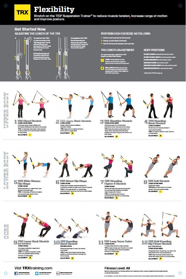 trx exercises | TRX All Body Workout