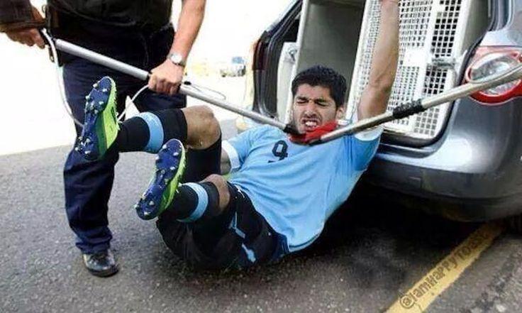 Luis Suárez: Memes tras suspensión de nueve partidos que le impuso FIFA