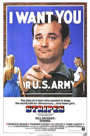 Sergeant, I dont think we should march today. You know... it IS the cold and flu season. #Stripes, #BillMurray