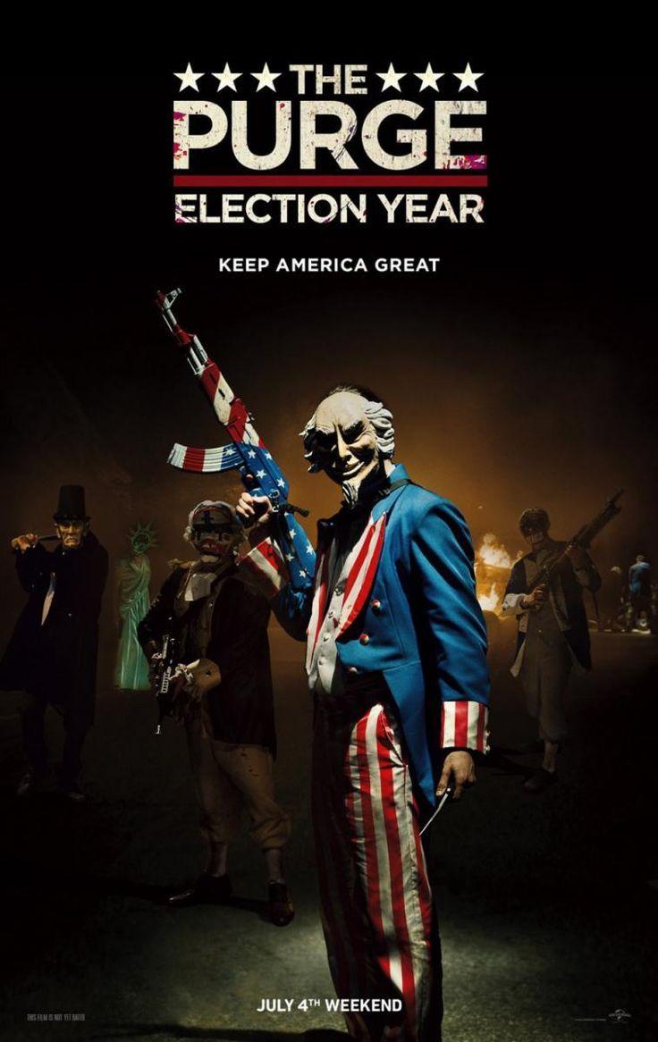 Election: la noche de las bestias (The Purge: Election Year) (2016) – Pelicula Online Español Latino HD