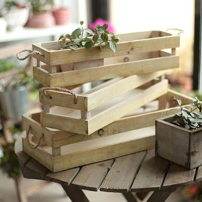 Деревянные ящики для цветов - купить в Московской области ...