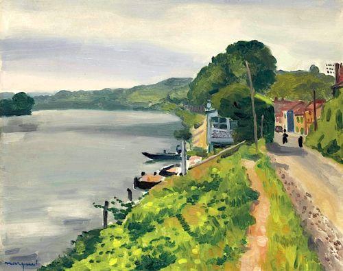 Albert Marquet (1875-1947) Les bords de Seine