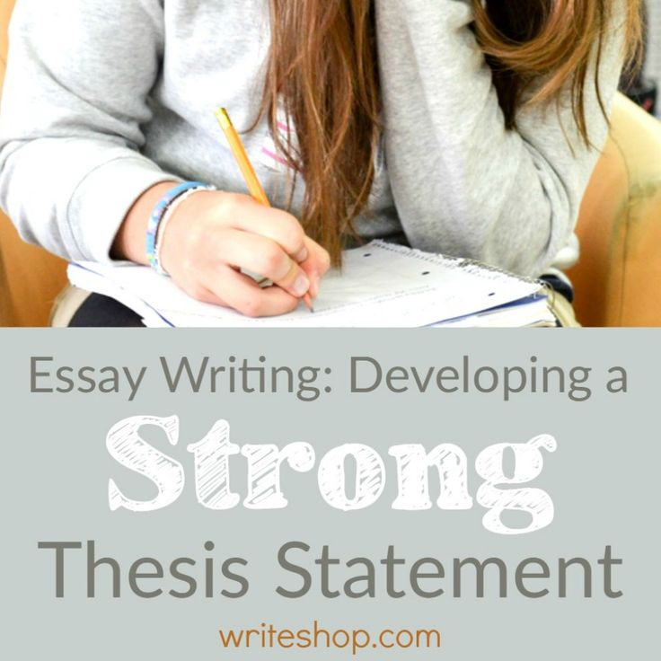 How can i check my thesis statement