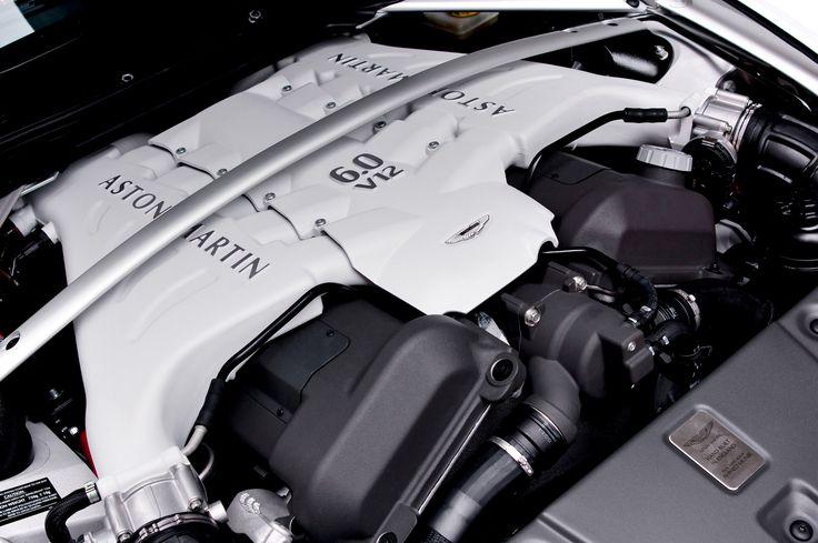 Aston Martin - 2012 - 2013   Vantage Roadster V-12 engine