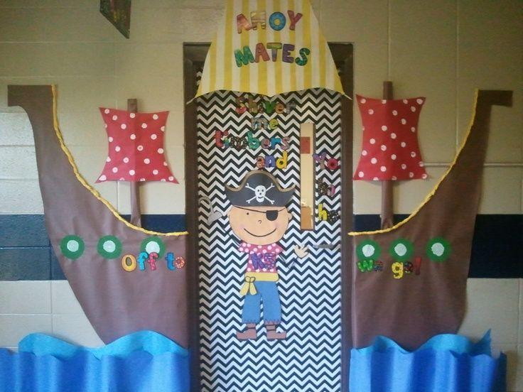 Pirate Classroom Theme | Via Michelle Wolfe