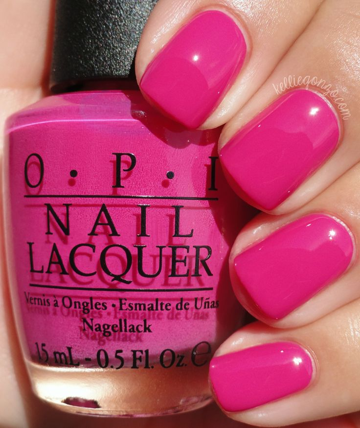 Pink Nail Polish Mini: 17 Best Ideas About Opi Pink On Pinterest