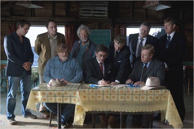 "Movie ""The Grand Seduction"" 2013 - Director: Don McKellar. Taylor Kitsch as Doctor Paul Lews. W/ Brendan Gleeson, Gordon Pinsent, Mark Critch"
