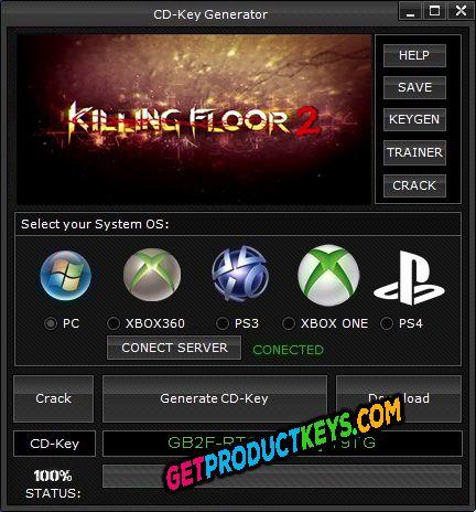 Killing Floor 2 CD Key Generator