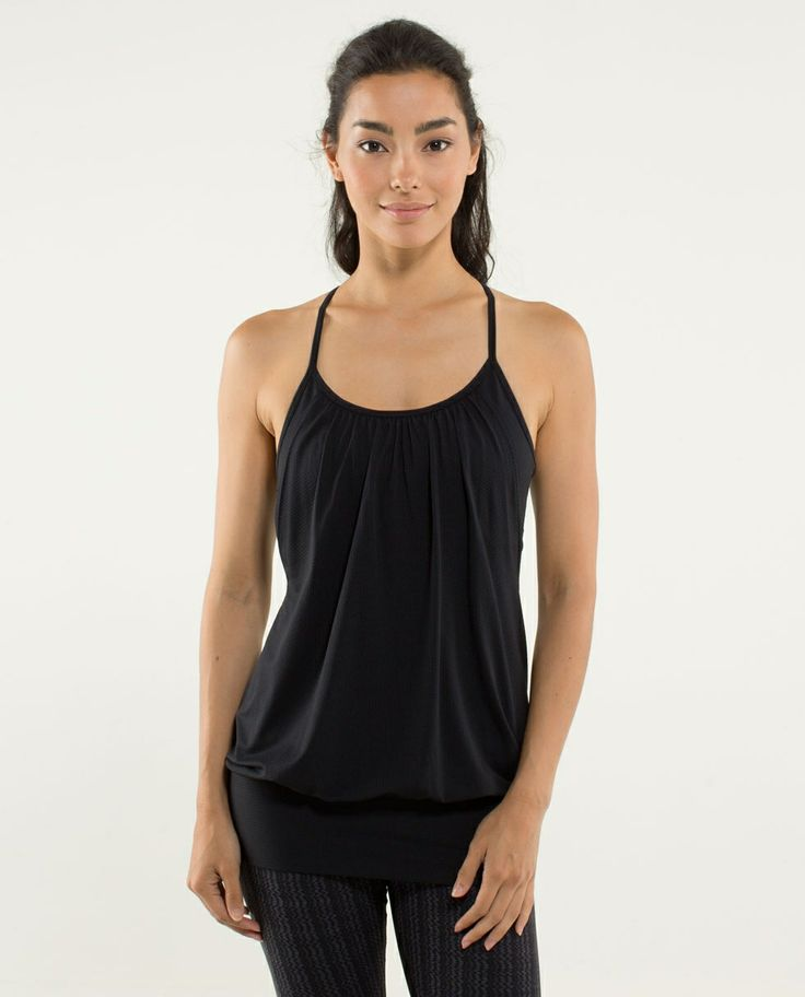no limits lululemon tank! My favorite tank so far. Want one in every color
