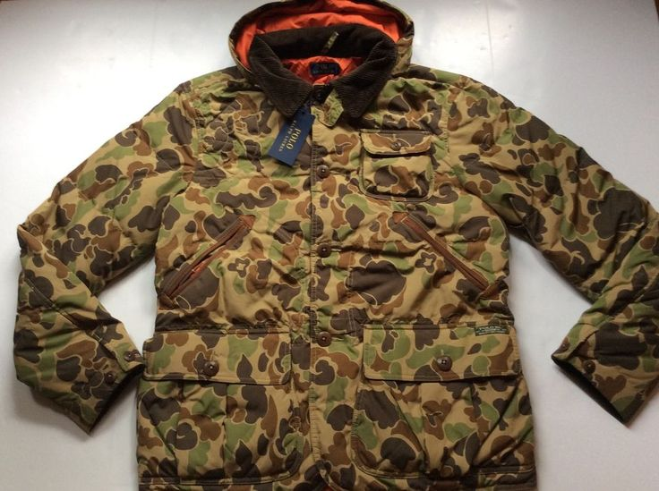 Details About 325 Polo Ralph Lauren Hudson Quilted Camo