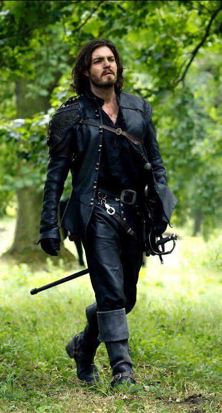 Tom Burke as Athos in The Musketeers <3