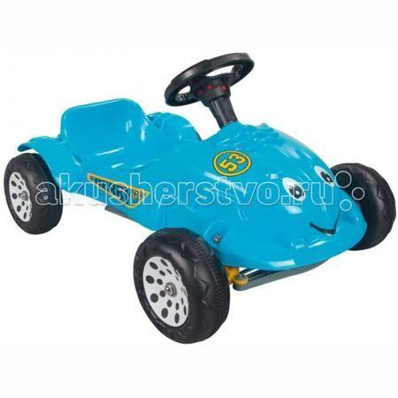 Pilsan Педальная машина Herby Car  — 3970р. --------------------  Благодаря легкости в использовании, малыш может кататься на такой машине самостоятельно, почувствовав себя настоящим водителем. Эта симпатичная и надежная машинка не зависит от батарей и источников питания, поэтому идеально подходит для прогулок по городу или во дворе, а также и для игры в помещении.  Педальная машина Pilsan Herby Car с большими добрыми глазами и приветливой улыбкой, совершенно безопасная для малыша…