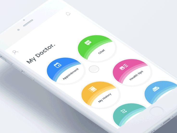 AI powered - My doctor app by Johny vino™ - Dribbble