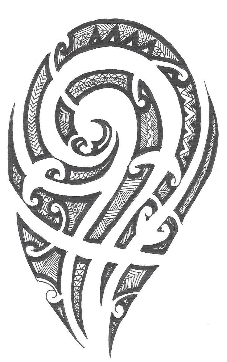 25 best ideas about polynesian designs on pinterest - Tatouage tribal epaule ...