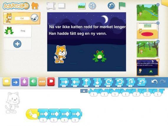 Koding og skriving småskolen