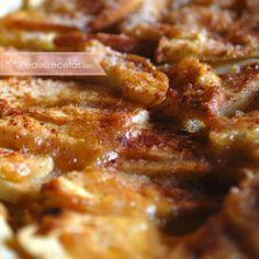 Postres en microondas: tarta de manzanas #recetas #microondas #actitudsaludable #saludable
