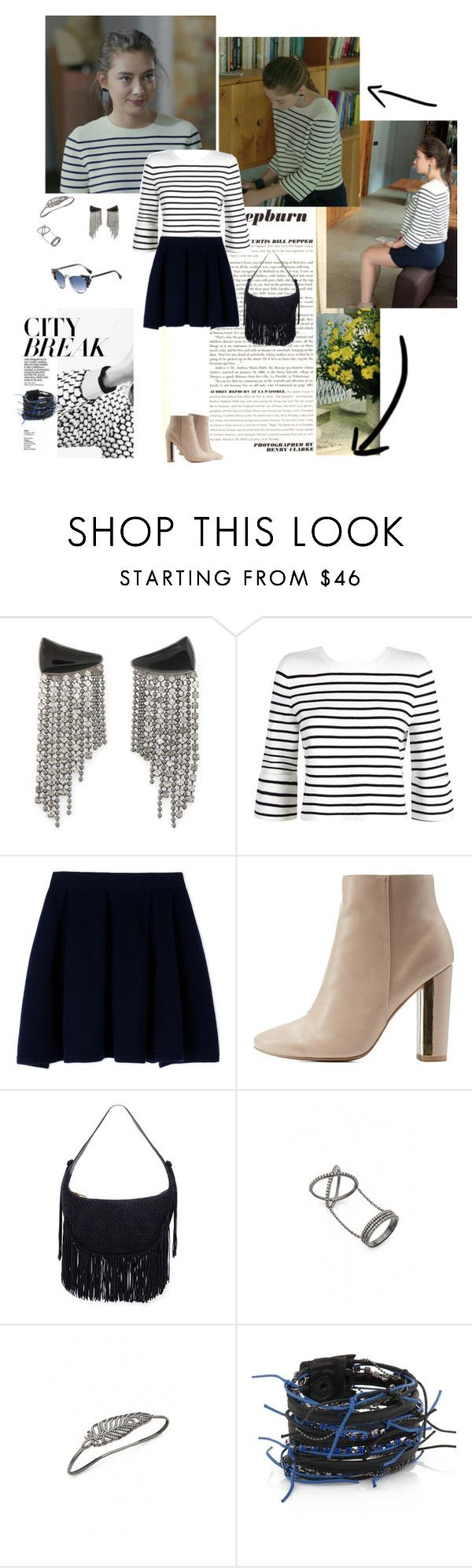 """Kara Sevda Ep. 21 Nihan"" by chaneladdicted ❤ liked on Polyvore featuring Maje…"
