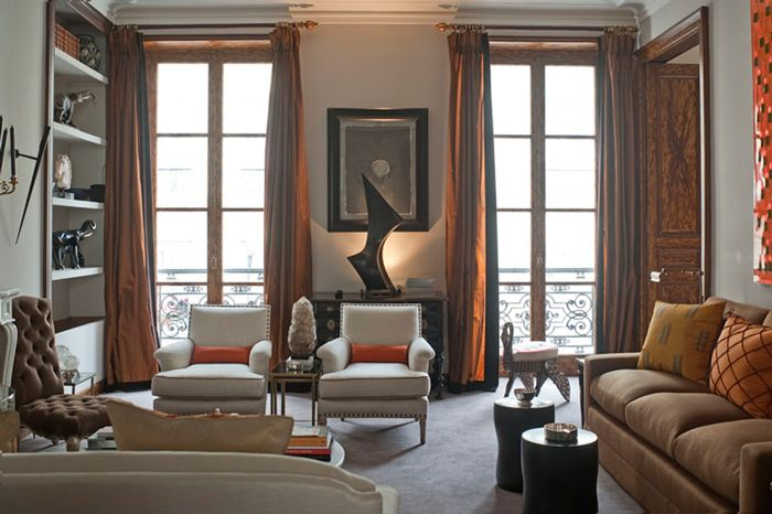 See 16 Images Of Exquisitely Chic Parisian Apartments