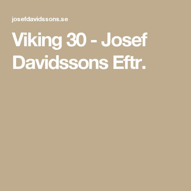 Viking 30 - Josef Davidssons Eftr.