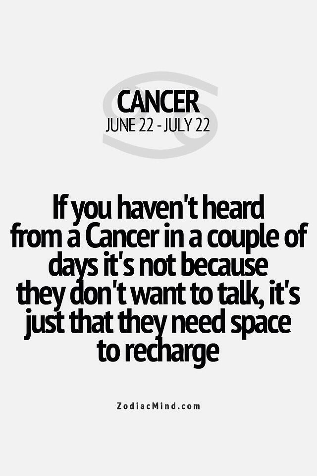 Or it could be because we don't want to talk to you and we need to recharge from our last interaction with you.