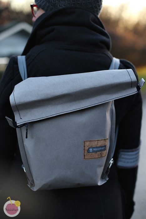 SnapPap bag with sewing tips