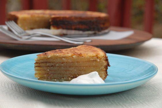 Bibingka: Goan Layered Coconut Cake