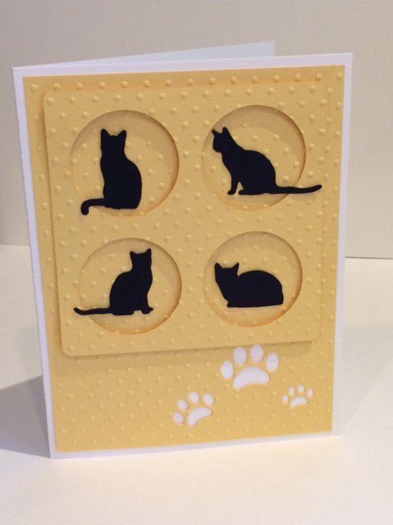 Как сделать открытку животного