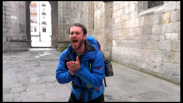 """LOVE THIS!!!! Watching it every day until I go! Video: Pharrell """"Happy""""...Camino Style!  This is just AWESOME!!!!"""
