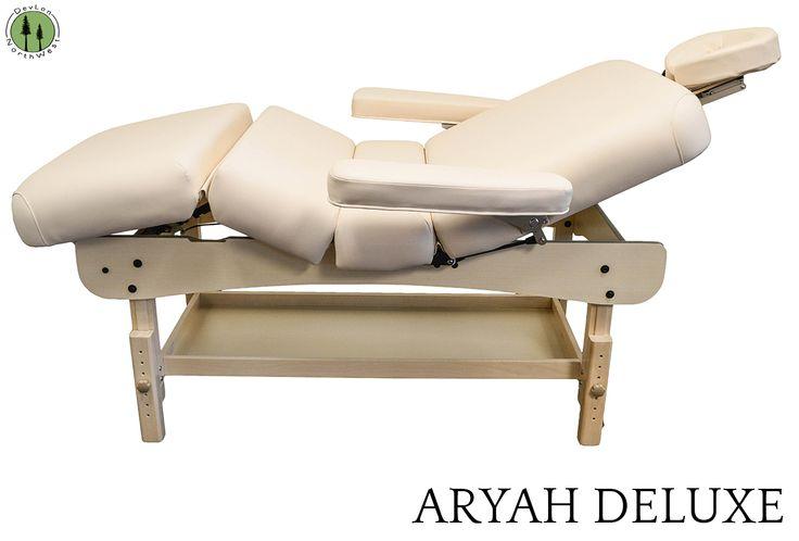 Stationary Massage table. DIY Assembly. Easy set up. Comfort and easily adjustable. #deluxe #spa #facial #massage #wax #adjustable #bed #hospitalbed #comfortable #rest #sleep #sleeping #storage #wood #craftsman #furniture  DNSAD1S30LA