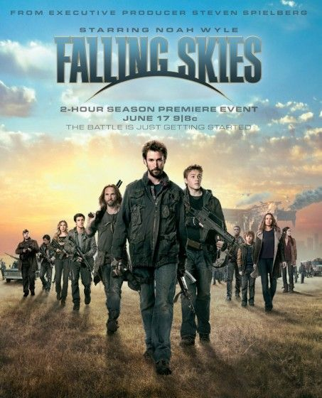 Falling Skies (2011-...)   with Noah Wyle