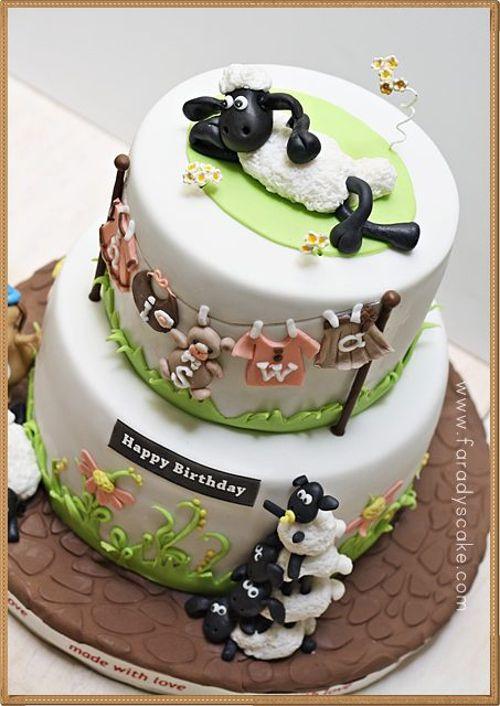 15 Amazing Shaun the Sheep Cakes & Bakes