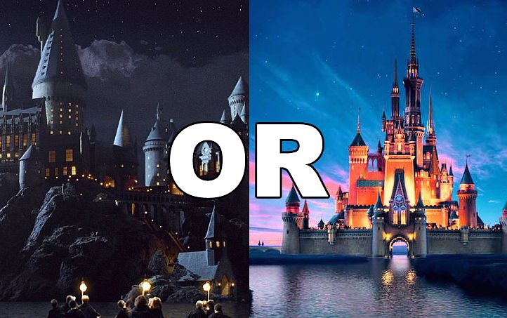 """This """"Would You Rather"""" Will Tell If You're More A Disney Or Potter Fan"""