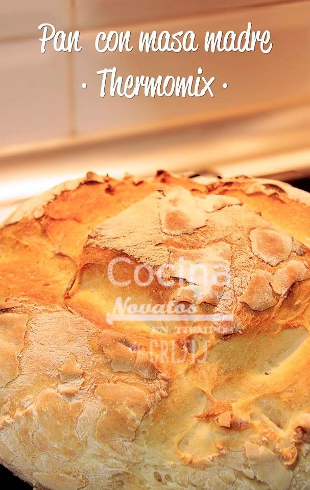Pan con masa madre by Thermomix