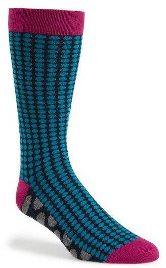 Ted Baker Men's Spot Organic Cotton Blend Socks