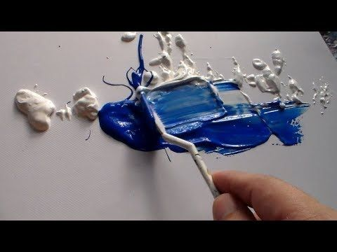 """Abstract art demonstration / Abstract painting / """"R-37 by Roxer Vidal"""" – YouTube"""