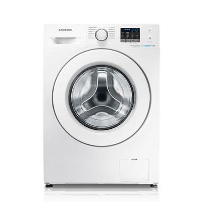 Samsung WF60F4E0W0W/LE - 40000RSD - Funkcija Kapacitet pranja 6 kg Maksimalna brzina centrifuge 1.000 o/min Vreme standardnog ciklusa: 135 min. (Pamuk 60°C puno) Tačkasti LED displej Maska: Bela Vrata: Bela Tehnologija Eco Bubble™ je dostupna Fuzzy Logic kontrole su dostupne Performanse Klasa A++ energetske efikasnosti 170 kWh/godišnje (u opterećenih 220 ciklusa) 8.580 l/godišnje (u opterećenih 220 ciklusa) Performanse centrifuge C 61 dB kod pranja 76 dB kod centrifuge