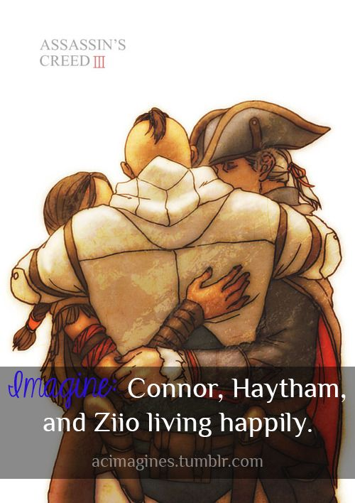 haytham and connor meet